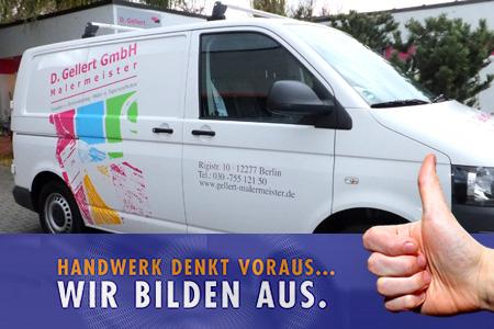 Ausbildung bei D. Gellert GmbH Malermeister
