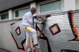 Ausbildung zum Maler und Lackierer bei Dieter Gellert Malermeister | Graffiti Beseitigung