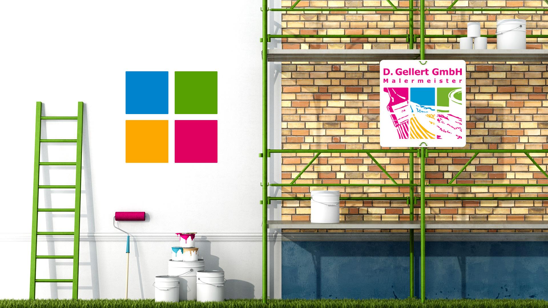 Gellert Malermeister Berlin - Wir bringen Farbe in Ihr Leben